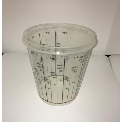 Műanyag keverőedény - 2 liter